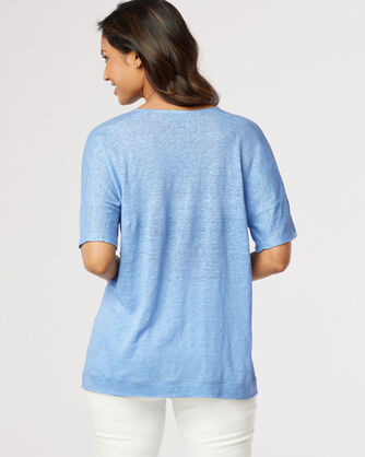 PIECED TEE, , large