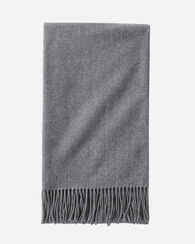SOLID 5TH AVENUE THROW, CHARCOAL, large
