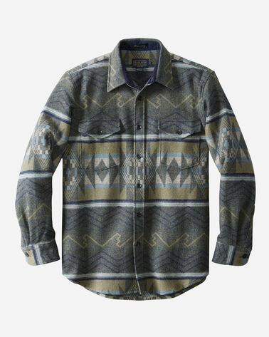 FITTED PINETOP SHIRT, SLATE WINDING RIVER, large