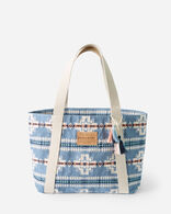 CHIEF JOSEPH TOTE IN TURQUOISE HEATHER