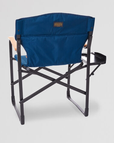 BACK VIEW OF FOLDING CAMP CHAIR IN GRAND CANYON STRIPE