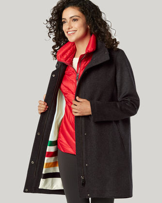PENDLETON SIGNATURE CAMPBELL COAT