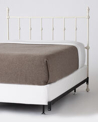 ASHTON BED - HEADBOARD AND RAILS, SANDSTONE, large