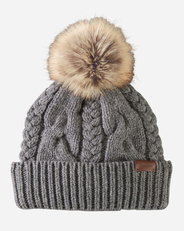 CABLE HAT IN GREY