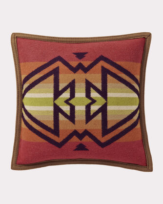 THUNDER AND EARTHQUAKE PILLOW, MAROON, large