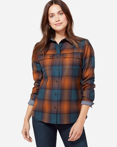 QUIMBY HIGH-LOW WOOL SHIRT