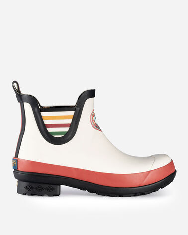 NATIONAL PARK CHELSEA RAIN BOOTS IN GLACIER PARK WHITE