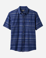 MEN'S KAY STREET STRIPE SHIRT IN BLUE INDIGO STRIPE