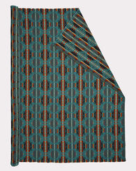 LIGHTWEIGHT MINI CHIEF JOSEPH FABRIC, TURQUOISE, large