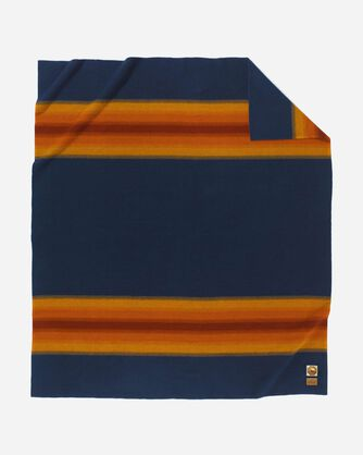 GRAND CANYON NATIONAL PARK BLANKET, NAVY, large