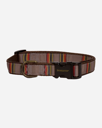 YAKIMA CAMP HIKER DOG COLLAR IN MINERAL UMBER