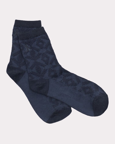 DIAMOND RIVER ANKLET SOCKS, NAVY, large