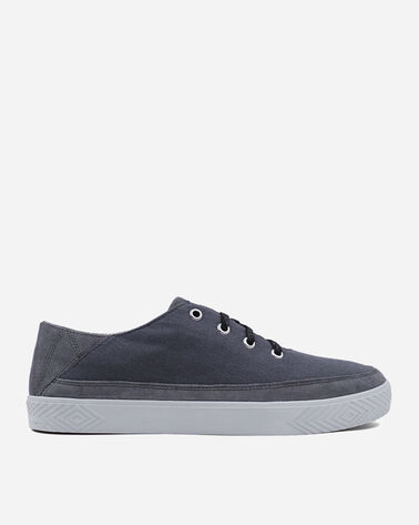 MEN'S PINOLE BLUFF CANVAS SNEAKERS IN STEEL GREY