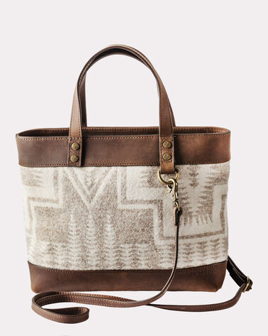 HARDING WOOL BAG WITH STRAP, BEIGE, large