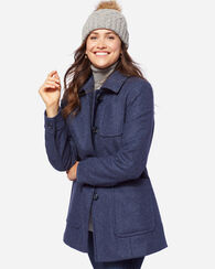 PENDLETON SIGNATURE CASPER BARN COAT, INDIGO, large