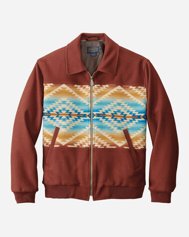 PAGOSA SPRINGS PIECED BIG HORN JACKET, COPPER PAGOSA SPRINGS, large