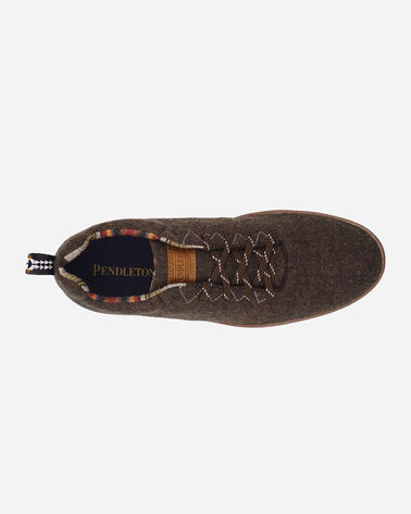 ADDITIONAL VIEW OF MEN'S PENDLETON WOOL SNEAKERS IN BROWN HEATHER