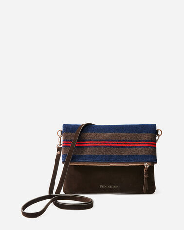 SHELTER BAY FOLDOVER CLUTCH