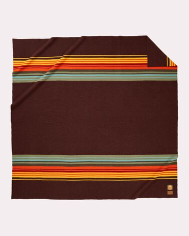 SMOKY MOUNTAINS NATIONAL PARK BLANKET, BROWN, large