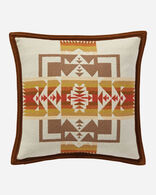 CHIEF JOSEPH PILLOW IN WHEAT