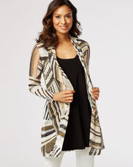 LONG CARDIGAN, MOCHA MULTI, large