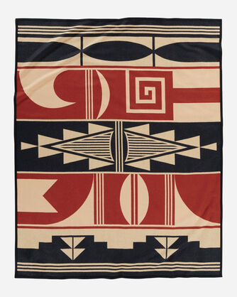 ADDITIONAL VIEW OF GIFT OF THE EARTH BLANKET IN TAN