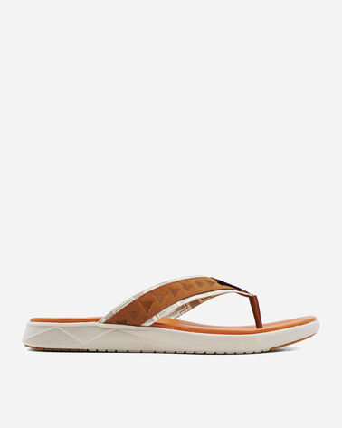 MEN'S CANNON BEACH FLIP FLOPS IN CARAMEL CAFE