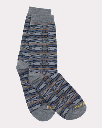 RIO CANYON CREW SOCKS, GREY, large