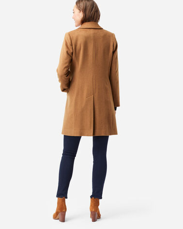ALTERNATE VIEW OF WOMEN'S WALKER WOOL COAT IN CAMEL