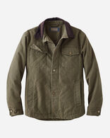 MEN'S BANNACK DIAMOND QUILTED JACKET, OLIVE, large
