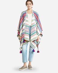 PALOMA STRIPE WRAP, BRIGHT STRIPE, large
