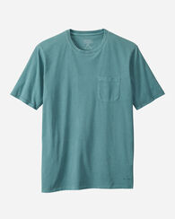 THOMAS KAY SHORT SLEEVE PIMA COTTON TEE, SILVER PINE, large