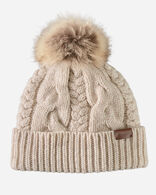 CABLE HAT IN OAT