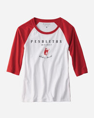 NOVELTY PRINT TEE, RED, large