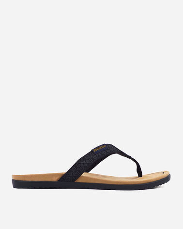 WOMEN'S AGATE BEACH FLIP FLOPS IN WESTERLEY BLACK