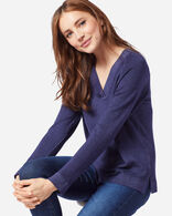 WOMEN'S MAGIC WASH MERINO V-NECK
