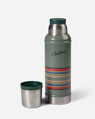ADDITIONAL VIEW OF STANLEY CLASSIC INSULATED BOTTLE IN YAKIMA STRIPE