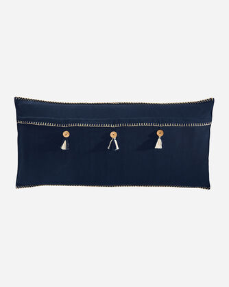 ADDITIONAL VIEW OF HARDING HUG PILLOW IN NAVY MULTI