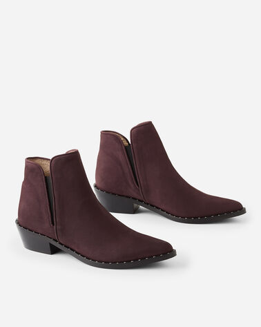 ATLANTA POINTY ANKLE BOOTS, BORDEAUX, large