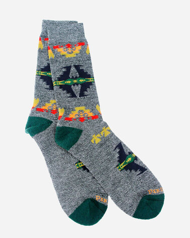 TUCSON CAMP SOCKS IN GREEN