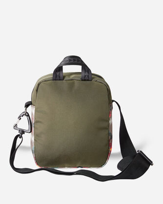 ALTERNATE VIEW OF BASKET MAKER CANOPY CANVAS CROSSBODY BAG IN OLIVE
