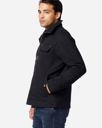 ALTERNATE VIEW OF MEN'S LOST HORSE SHERPA-LINED JACKET IN BLACK