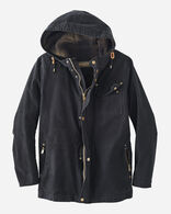 MEN'S BROTHERS HOODED TIMBER CRUISER, BLACK, large