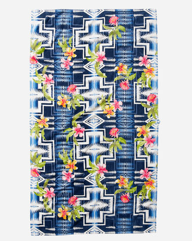 TOMMY BAHAMA & PENDLETON SPA TOWEL, NAVY, large