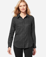MAYA WOOL SHIRT IN BLACK