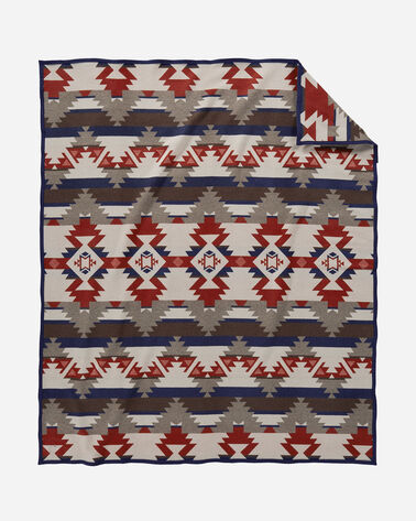 ADDITIONAL VIEW OF MOUNTAIN MAJESTY BLANKET IN FAWN