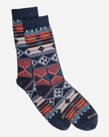 SOUTHERN HIGHLANDS CREW SOCKS IN NAVY