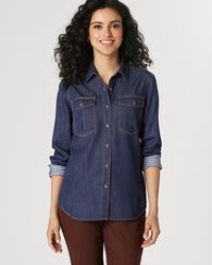 YURI DENIM SHIRT, DENIM, large
