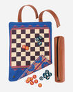 ADDITIONAL VIEW OF PENDLETON CHESS AND CHECKERS SET IN MULTI