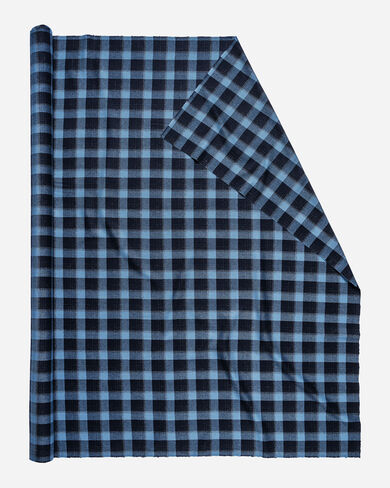 UMATILLA PLAID FABRIC IN BLUE